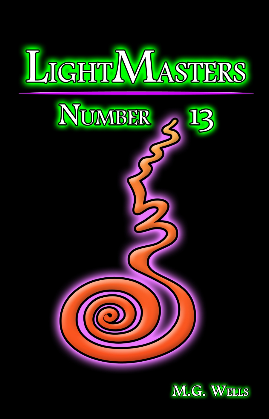 LightMasters_Number_13_by_MG_WELLS_Book_Cover