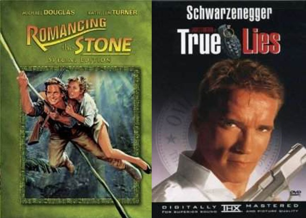 Romancing the Stone meets True Lies